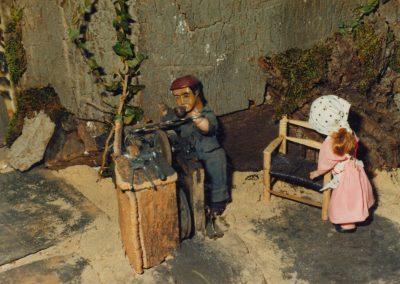 El afilador en 1982.