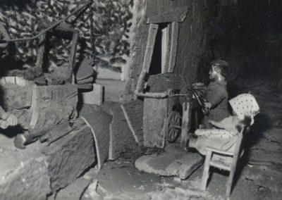 El afilador en 1983.
