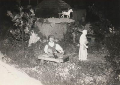 El carpintero y la noria en 1978.
