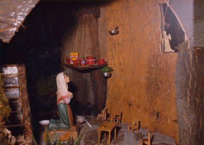 La casa de María en 1980.