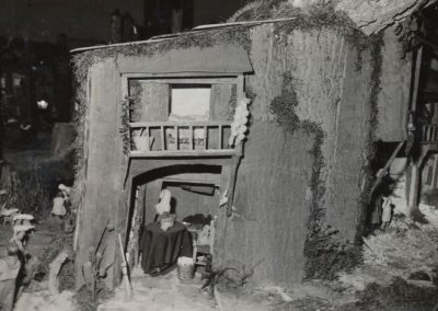La casa de María en 1983.