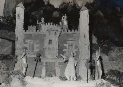 El castillo de Herodes en 1983.