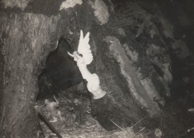 La cueva de los pastores en 1978.