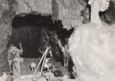 Cueva de los pastores en 1980.