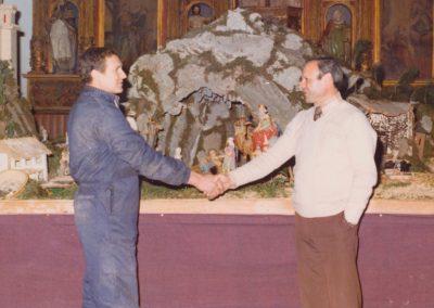 Gelo y Ser en 1976.