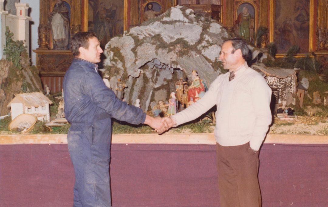 Ángel Méndez y Ser Puente.