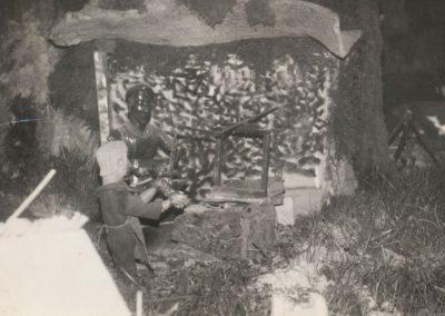 El herrero en 1978.