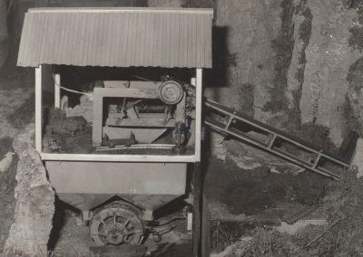 La mina en 1977