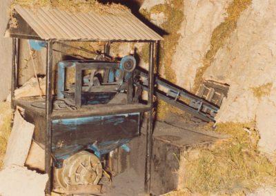 La mina en 1982.