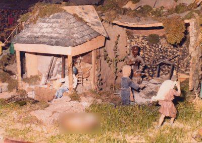El molino y el herrero en 1981.