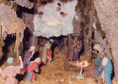 El portal de Belén en 1982.