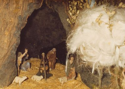La cueva de los pastores en 1976.