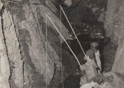 Los pescadores en 1980.