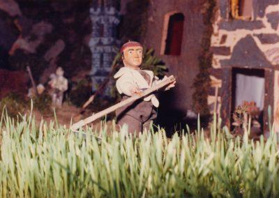 El segador en 1982.