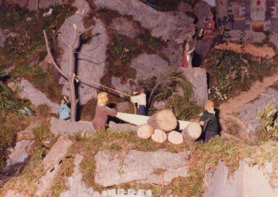 Los serradores y taladores en 1982.