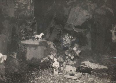 El trillo con la noria la fondo en 1978.
