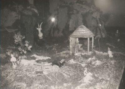 El trillo con el molino al fondo en 1978.