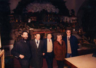 Pío, Ser, Gelo, Sevilla y José en 1988.