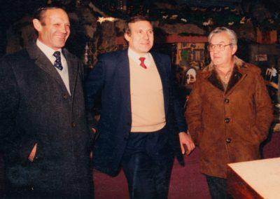 Ser, Gelo y José en 1988.