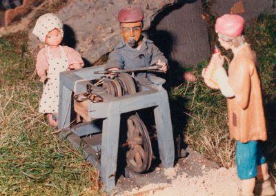 El afilador en 1988.