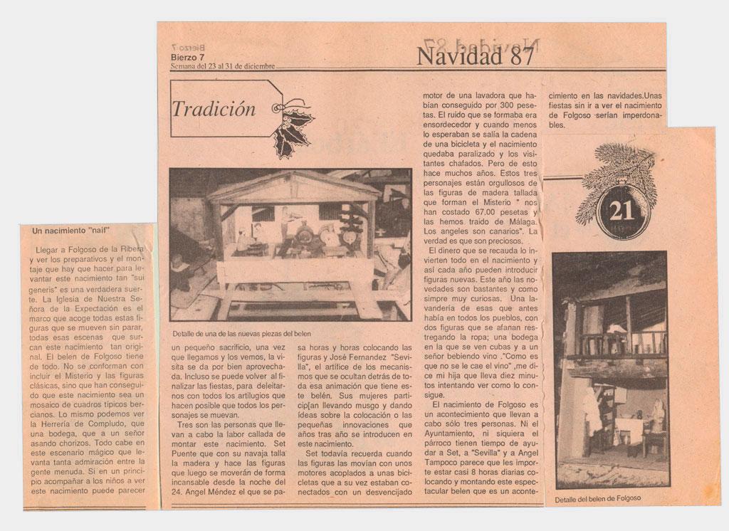 Arículo de prensa en Bierzo 7.