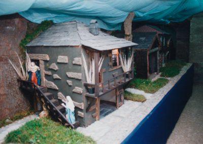 Calle de atrás en 1999.