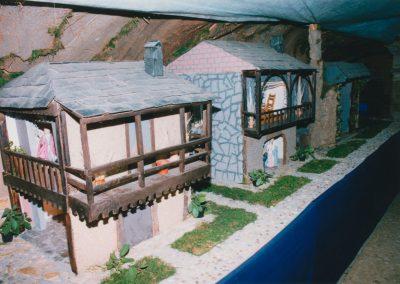 Casas en la parte de atrás en el 2000.