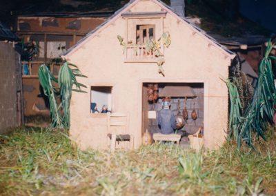 Casa berciana en 1987.