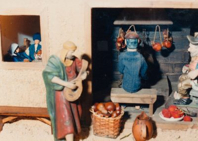 La casa berciana en 1988.