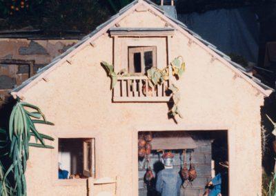 La casa berciana en 1989.