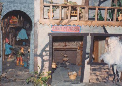 La casa de María en 1987.