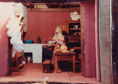 La casa de la Virgen en 1985.