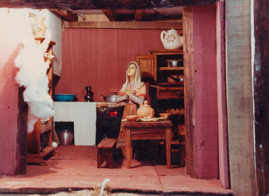 La Anunciación a María.