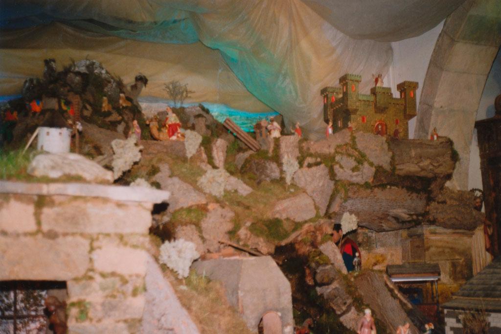 En lo alto, el castillo de Herodes.