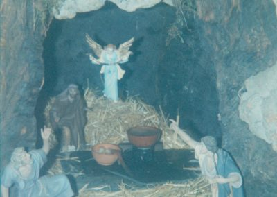 Cueva de los pastores en 1990.