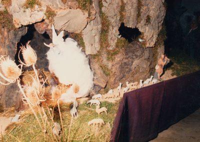 Cueva de los pastores en 1988.