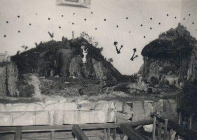 El belén en 1965.