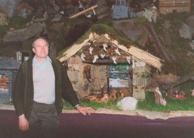 Gelo junto al portal en 1993.