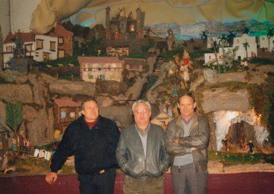 Gelo, José y Ser en 1991.