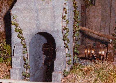 La herrería de Compludo en 1985.