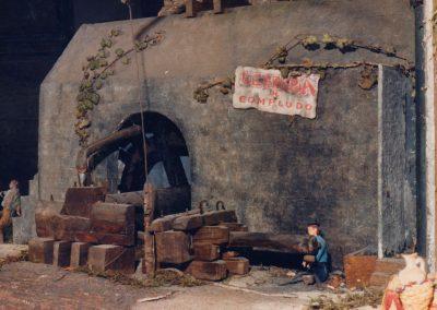 Herrería de Compludo en 1986.