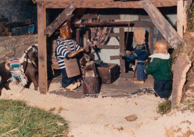 El herrero en 1988.