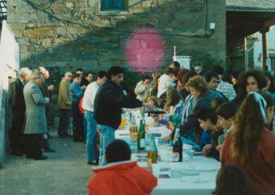 Invitación en 1988.