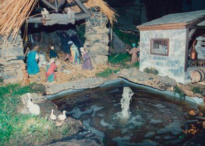 El lago junto al portal de belén en 1990.