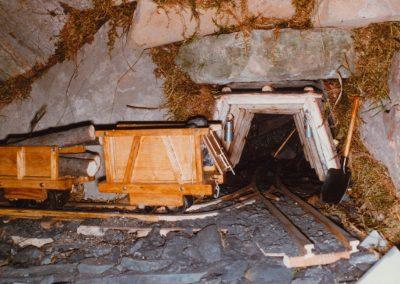 La mina en 1985.