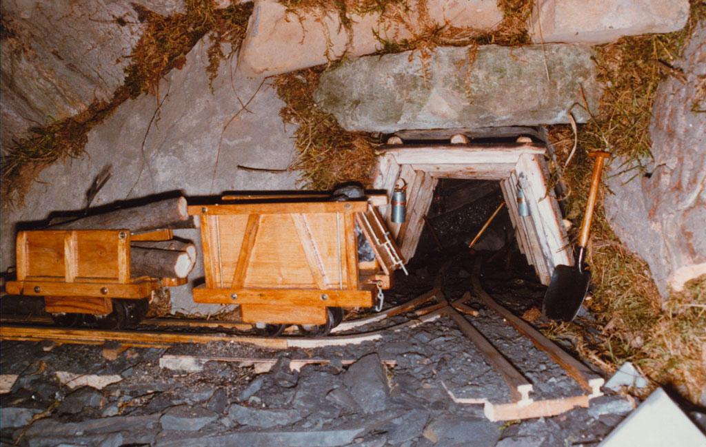 La mina.