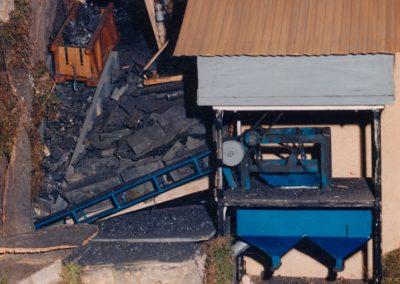 La mina en 1986.