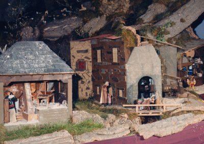 El molino y la herrería en 1986.