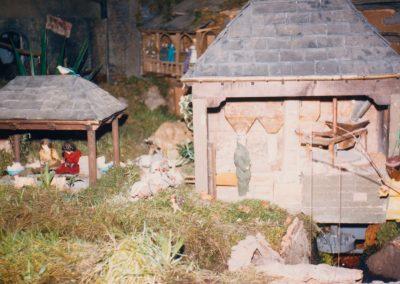 El lavadero junto al molino en 1987.