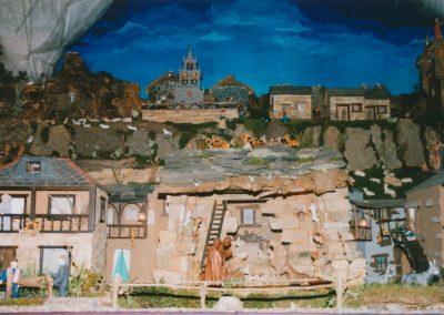 el portal de belén en el 2000.